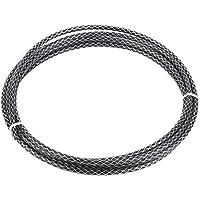 Cable de Cambio de Bicicleta, 3m Mountain Road Cable de Cambio de Bicicleta Cable de Cambio Tejido(Negro)