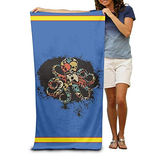 Halloween Adults Cotton Beach Towel 31 X 51-Inch Quick Dry ()