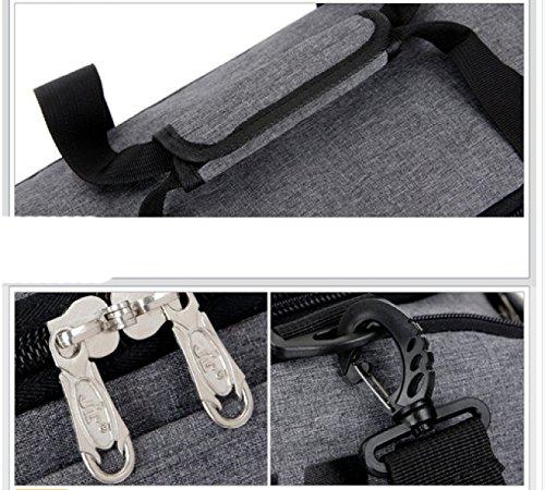 LAIDAYE Großvolumige Tragbare Gepäcktaschen Sport Und Fitness Sporttasche Fitnesstasche Große Kapazität Handtasche 4