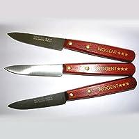 NOGENT 3 ETOILES - Couteaux d'office X3 Classique m/bois sans dents *