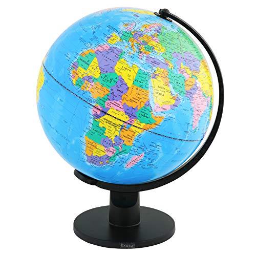 Exerz (Durchmesser: 30 cm) Bildung Drehbarer Globus - in Englischer Sprache (30cm)