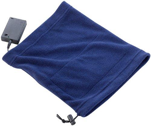 infactory Heizdecke: Beheizbares Multifunktionstuch aus Fleece (Beheizbarer Schal)