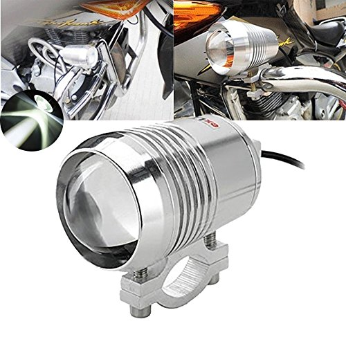 tuincyn motocicleta LED foco 30W CREE U2U3Spot Light con aleación de aluminio...