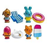 Sago Mini Juguetes de Baño: Pool Party Collection-Pack 8 Piezas (B073ZMP79Y)