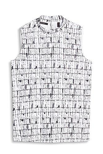 ESPRIT Collection Damen Top Weiß (Off White 110)