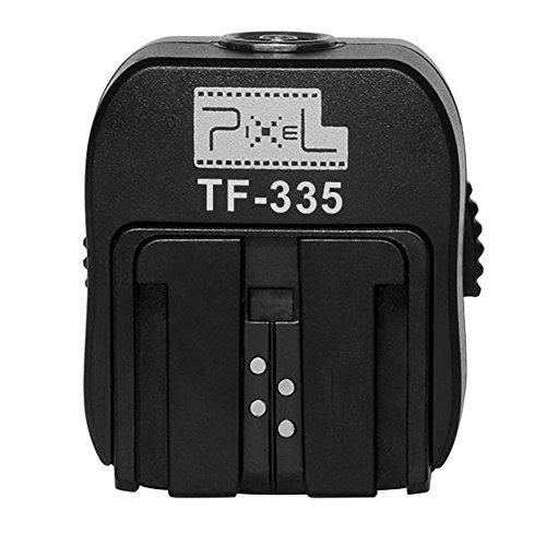 Pixel tf-335Blitzschuh-Adapter für Sony DSLR-Kameras Mi zu Sony Blitzschuh mit 3,5mm PC PORT unterstützt TTL-Blitz.
