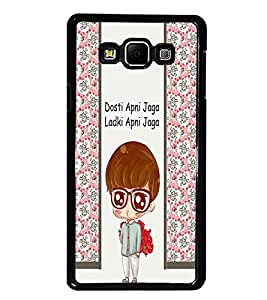 PrintDhaba Quote D-3361 Back Case Cover for SAMSUNG GALAXY E7 (Multi-Coloured)