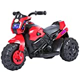 #10: Baybee Damned GS-800 Battery Operated Sports Bike | Single Motor Ride On Bike with 20 Kg Weight Capacity -- Red