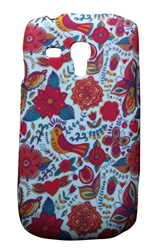 Floral Fashion Designer Print Snap-On Hard Slim Back Flexible Bumper Case Cover For Samsung Galaxy S3 Mini i8190  available at amazon for Rs.99
