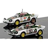 Scalextric–c3894a–Vehículo miniatura–Coffret 2coches Lancia Stratos 1976Rally Champions