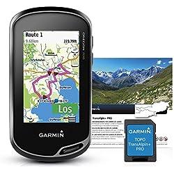 Garmin Oregon 700+ Topo Transalpin + Outdoor Dispositivo de Navegación, Negro/Gris, M