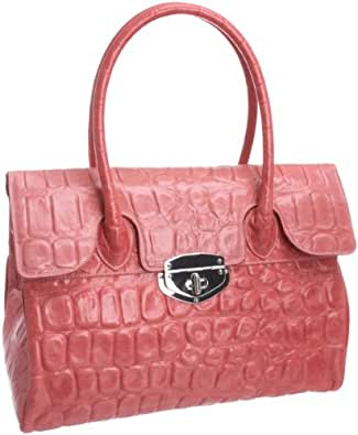 Osprey London Womens The Tango Luxury Handbag Candy