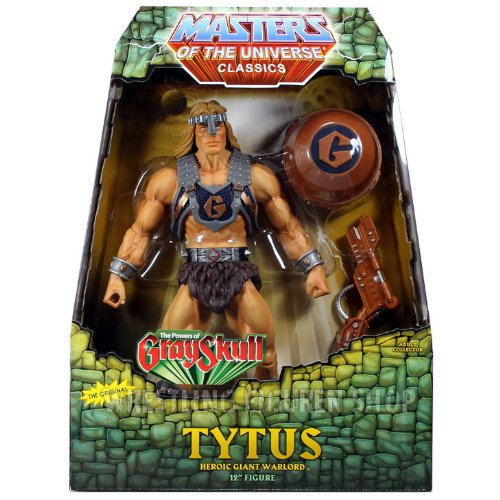 HeMan Masters of the Universe Classics Exclusive Deluxe 12 Inch Action Figure Tytus by Masters of the Universe