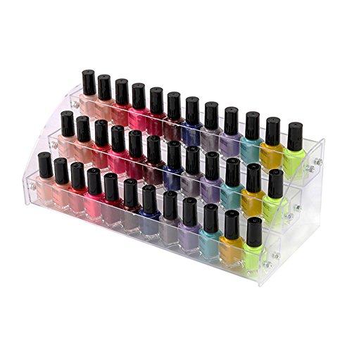 3 tier tischplatte nagellack organizer halter rack acryl make-up kosmetik lippenstift...