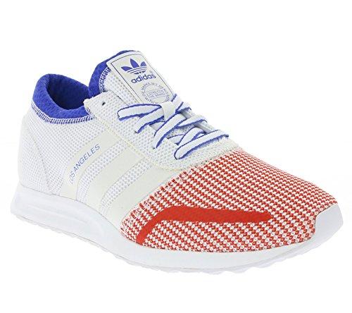 adidas Los Angeles, Scarpe da Ginnastica Uomo bianco rosso blu