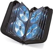 Hama Etui na płyty CD na 120 dysków/CD/DVD/Blu-ray (teczka do przechowywania, zajmuje mało miejsca w biurze, s