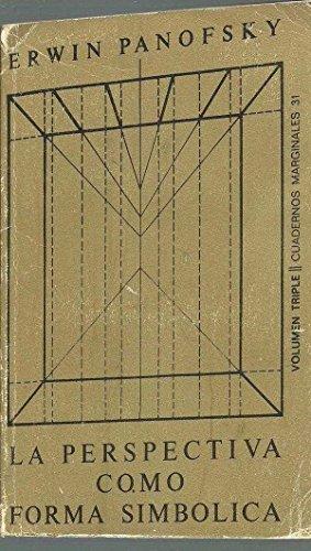 La perspectiva como «forma simbólica» (.) por Erwin Panofsky