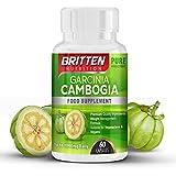 Britten Nutrition Garcinia Cambogia - ayuda a reducir el apetito, contribuye a reducir tu grasa, control de peso, complemento para la dieta, 60 comprimidos
