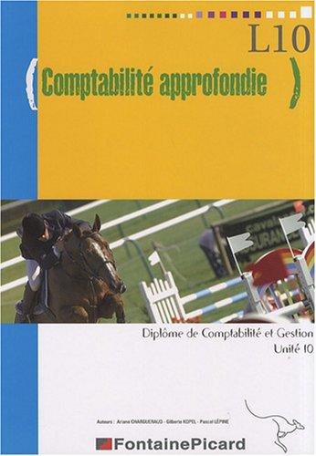 Comptabilité approfondie DCG10