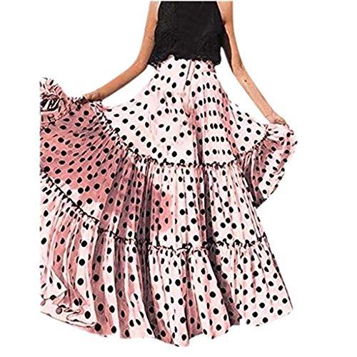 1ef05cc4d2 Vectry Falda Plisada Mujer Faldas Largas Verano Faldas