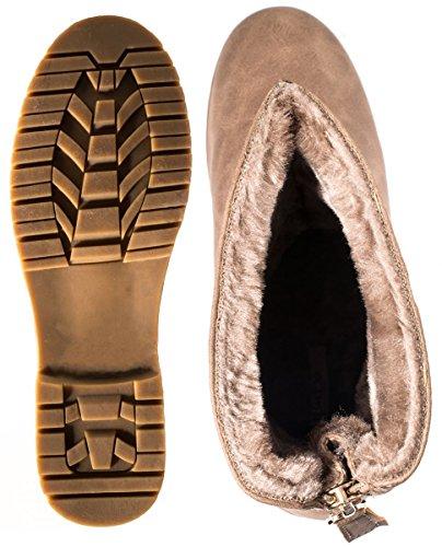 Elara - Stivali Donna cachi