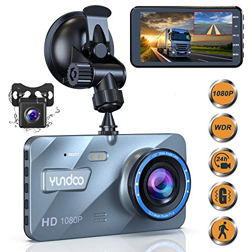 KNOSSOS Professional 2.5 Inch Full HD 1080P Car DVR Vehicle Camera Video Recorder Black
