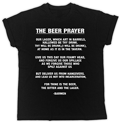 Beer-Prayer-T-Shirt-Drinking-Funny-Novelty-Ideal-Gift-Pub-Fun-Unisex-Tshirt