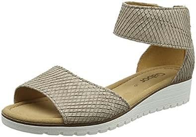 Gabor Shoes Gabor Casual, Sandales Bride Cheville Femme, Beige (Silk), 38 EU