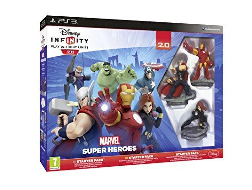 Juego Disney Infinity: Marvel Super Heroes. Starter Pack 2.0 para PlayStation 3