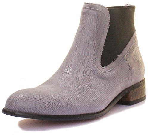 Ff Chelsea 5070 Donna Boots Grigio Justin Blu Reece fFEwnfqY