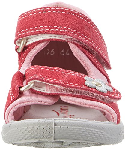 Superfit Polly, Sandales  Bout ouvert fille Pink (pink Kombi)