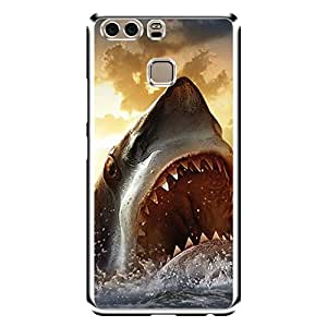 """Bhishoom Designer Printed 2D Transparent Hard Back Case Cover for """"Huawei P9+"""" - Premium Quality Ultra Slim & Tough Protective Mobile Phone Case & Cover"""