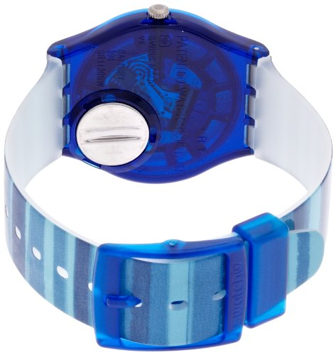 Swatch Unisex-Uhr Analog Quarz mit Plastikarmband – GN237 - 4