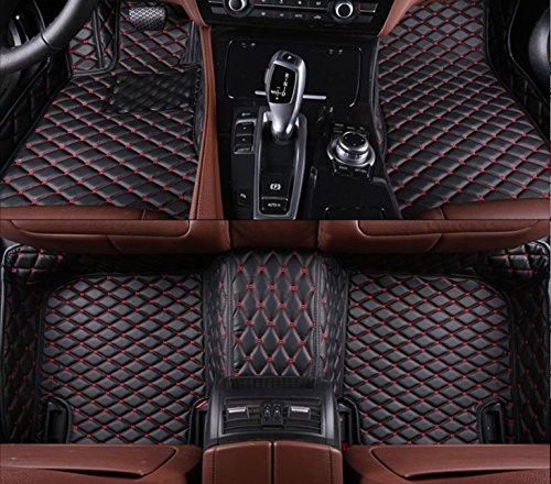 1set Personalizado Alfombrilla para el coche para Honda Fit Accord Odyssey Stream Civic Stepwgn CR-V alfombra
