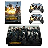 eFinger Vinyle Protection For PUBG Body Design Decal Skin Sticker Autocollant for Xbox One X Console+Controllers