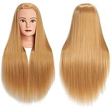 Männliche Mannequin Salon Puppe Frisur Schaum Manikin Kopf Modell Gläser Stand