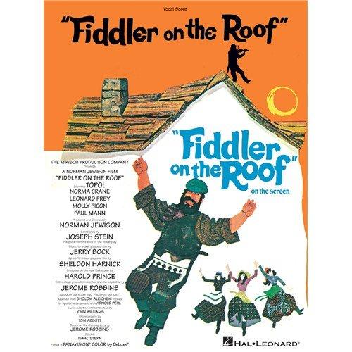 Jerry Bock and Sheldon Harnick: Fiddler auf dem Dach (Vokalspieler) Noten für Stimme, Chornoten [Musiknoten]