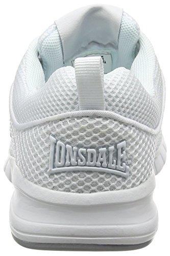 Lonsdale Sivas, Scarpe da Corsa Donna White (White)