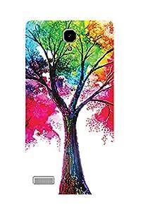 ZAPCASE PRINTED BACK COVER FOR REDMI NOTE PRIME - Multicolor