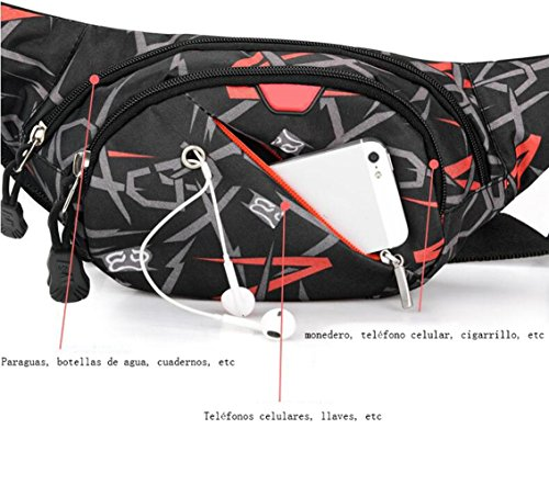 OOFWY Sacchetto di spalla della cassa del sacchetto Tempo libero Sport Uomini E Donne Zaino multifunzionale all'aperto , B E