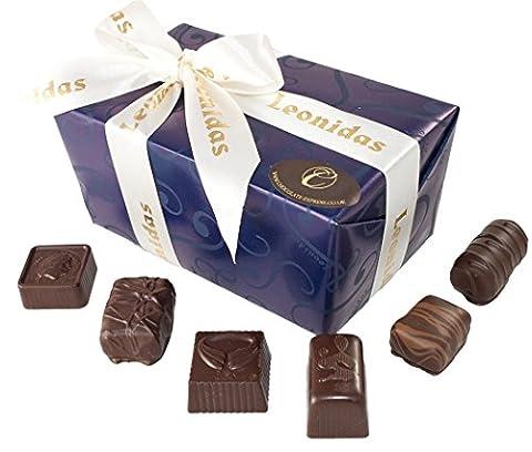 Belgische Leonidas Zartbitterschokolade: Luxuriösen Mischung Von 22 edle pralinen In Geschenkbox.