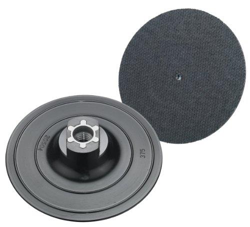 Connex COM191113 Klett-Schleifteller, 115 mm, Gewinde M14 für Winkelschleifer-/polierer
