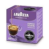 Lavazza A Modo Mio Café Espresso Délicati Soave 16 capsules - Lot de 2