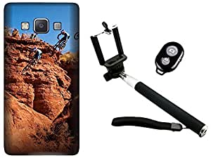 APE Back Cover and Selfie Stick for Samsung Galaxy J2 2016