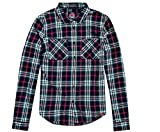 Superdry G40002EP Camisa, BLU (Navy White Red Check), X-Small para Mujer