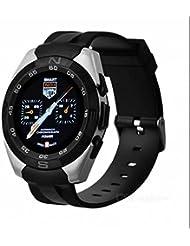 GPS montre de sport, HD IPS écran, écran LCD de forme ronde Mode, écran couleur Smart Watch, USB rechargeable étanche LED Lampe de poche, Smart montre de sport support iPhone Smartphone Android