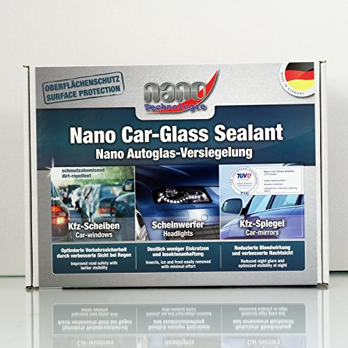 Preisvergleich Produktbild 2K Nanoversiegelung Nano Glasversiegelung Scheibenversiegelung