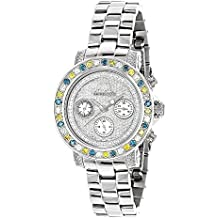 LUXURMAN Watches: Ladies Color Diamond Watch 2.75ct