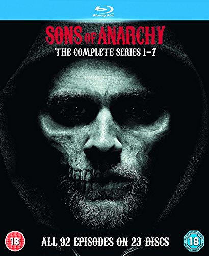 Sons Of Anarchy: Complete Seasons 1-7 [Edizione: Regno Unito] [Italia] [Blu-ray]