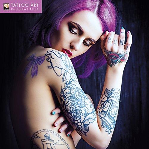 Tattoo Art - Tattoo-Kunst 2019: Original Flame Tree Publishing-Kalender [Kalender] (Wall Calendar)